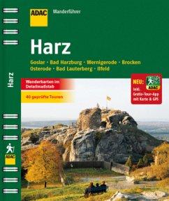 ADAC Wanderführer Harz inklusive Gratis Tour App
