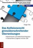 Das Kollisionsrecht grenzüberschreitender Überweisungen (eBook, PDF)