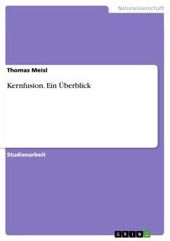 Kernfusion - Ein Überblick (eBook, ePUB)