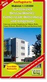 Doktor Barthel Karte Gartenreich Dessau-Wörlitz, Lutherstadt Wittenberg und Umgebung