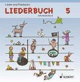 Lehrer-CD 5: Sport- und Spielfeste / Klassenfahrt und Wandertag, Audio-CD / Liederbuch Grundschule