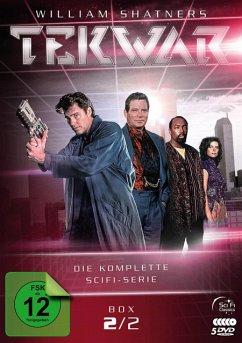 TekWar - Box 2/2: Die komplette Sci-Fi-Serie DVD-Box - Shatner,William/Evigan,Gre