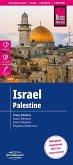 Reise Know-How Landkarte Israel, Palästina; Israel, Palestine; Israel, Palestina