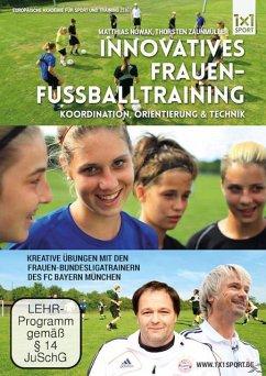 Innovatives Frauen-Fußballtraining