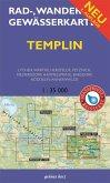Rad-, Wander- & Gewässerkarte Templin