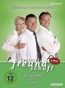 In aller Freundschaft - Die 14. Staffel, Teil 1, 24 Folgen (6 Discs)