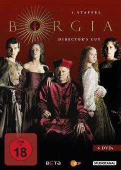 Borgia - Komplette 1. Staffel Director's Cut - Doman,John/Mckay,Christian