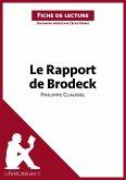 Le Rapport de Brodeck de Philippe Claudel (Analyse de l'oeuvre) (eBook, ePUB)