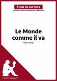 Le Monde comme il va de Voltaire (Fiche de lecture) (eBook, ePUB)