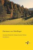 Anatomische Merkmale der wichtigsten deutschen Wald und Gartenholzarten