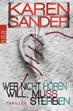 Wer nicht hören will, muss sterben / Stadler & Montario Bd.2 - Sander, Karen