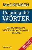 Ursprung der Wörter (eBook, PDF)