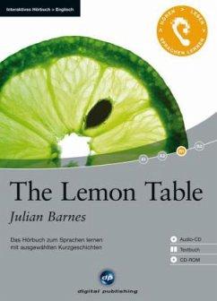 The Lemon Table, 1 Audio-CD + 1 CD-ROM + Textbuch - Barnes, Julian