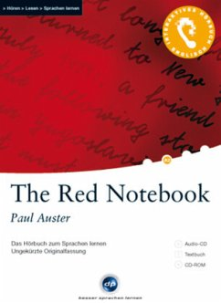 The Red Notebook, 1 Audio-CD + 1 CD-ROM + Textbuch - Auster, Paul