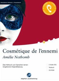 Cosmétique de l'ennemi, 2 Audio-CDs + 1 CD-ROM + Textbuch - Nothomb, Amélie