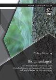 Biogasanlagen: Eine Wirtschaftlichkeitsanalyse unter Berücksichtigung verschiedener Fördermodelle und Möglichkeiten zur Wärmenutzung