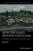 New England Beyond Criticism (eBook, PDF)