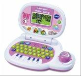 VTech 139554 - Lern und Musik Laptop, pink