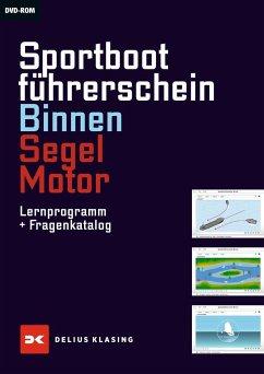 Sportbootführerschein Binnen, Segel, Motor, CD-ROM