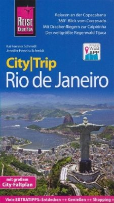 Reise Know-How CityTrip Rio de Janeiro - Schmidt, Jennifer Ferreira; Schmidt, Kai Ferreira