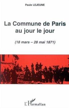 Commune de paris au jour le jour 18 mars (eBook, PDF)