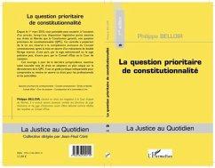 La question prioritaire de constitutionnalite (eBook, PDF)