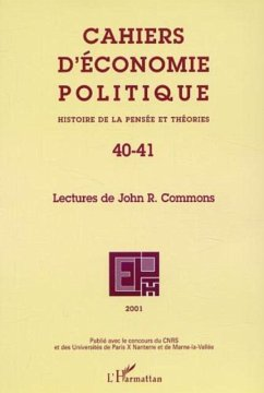LECTURES DE JOHN R. COMMONS (eBook, PDF)
