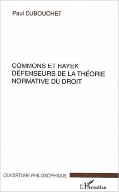 Commons et Hayek (eBook, PDF)