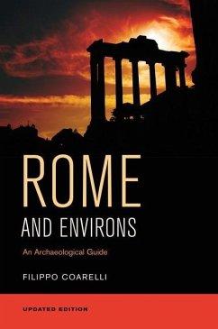 Rome and Environs (eBook, ePUB) - Coarelli, Filippo