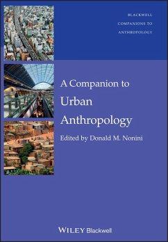 A Companion to Urban Anthropology (eBook, PDF) - Nonini, Donald M.