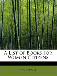A List of Books for Women Citizens