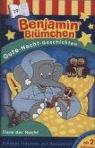 Benjamin Blümchen, Gute-Nacht-Geschichten - Tiere der Nacht, 1 Cassette