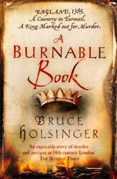 A Burnable Book - Holsinger, Bruce