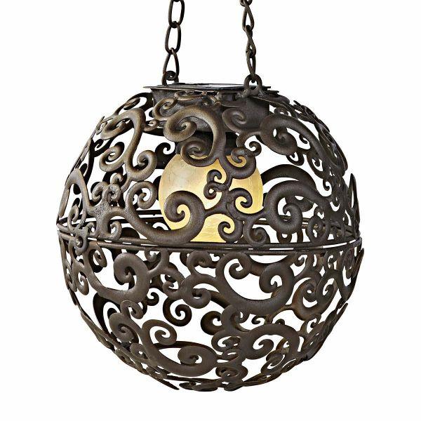 solarleuchte moon braun bronze. Black Bedroom Furniture Sets. Home Design Ideas