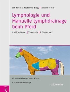 Lymphologie und Manuelle Lymphdrainage beim Pferd (eBook, ePUB) - Fedele, Christina