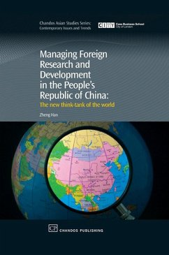 Managing Foreign Research and Development in the People's Republic of China (eBook, ePUB) - Han, Zheng