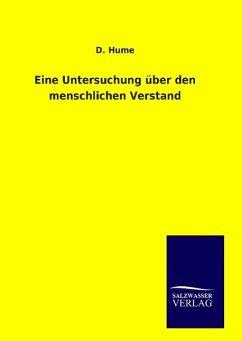 9783846094549 - Hume, D.: Eine Untersuchung über den menschlichen Verstand - Kitap