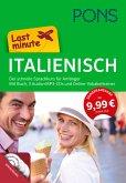 PONS Last minute Italienisch, Buch, 3 Audio+MP3-CDs und Online-Vokabeltrainer