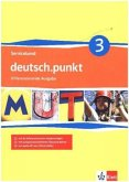 deutsch.punkt 3. Serviceband Lehrerbuch Kopiervorlagen mit CD-ROM 7. Schuljahr. Realschule. Differenzierende Ausgabe
