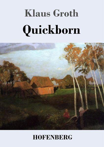 Quickborn von klaus groth buch bücher