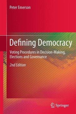 Defining Democracy - Emerson, Peter