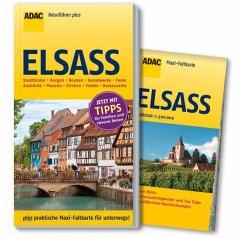 ADAC Reiseführer plus Elsass - Gercke, Hans