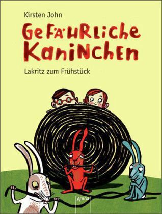 Buch-Reihe Gefährliche Kaninchen von Kirsten John