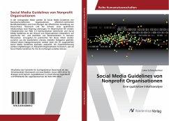 Social Media Guidelines von Nonprofit Organisationen
