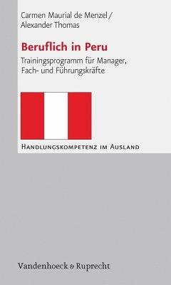 Beruflich in Peru (eBook, PDF) - Thomas, Alexander; de Menzel, Carmen Maurial
