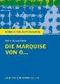 Die Marquise von O... von Heinrich von Kleist. Königs Erläuterungen. (eBook, ePUB)