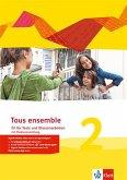 Tous ensemble 2. Fit für Tests und Klassenarbeiten mit Lösungen und Multimedia-CD