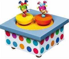 Musik Spieldose Tanzende Akrobaten