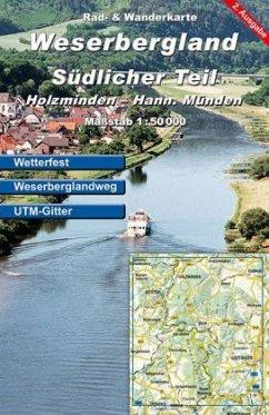 KKV Rad- und Wanderkarte Weserbergland, Südlicher Teil