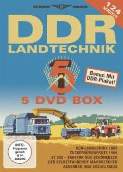 DDR Landtechnik Box, 5 DVDs